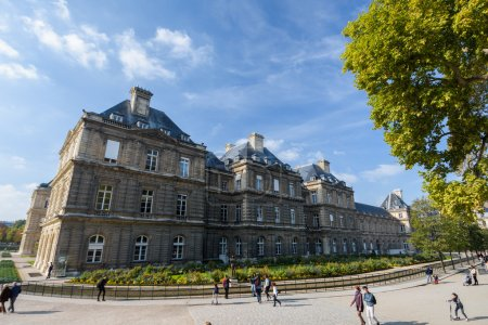 The Palace in the Luxembourg Gardens