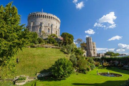 Photo pour Windsor Castle à Windsor, Angleterre, Royaume-Uni - image libre de droit