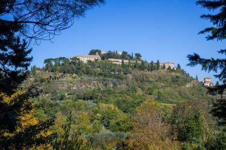 The beautiful landscape of Tuscany