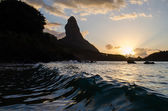 Fernando de Noronha at sunset