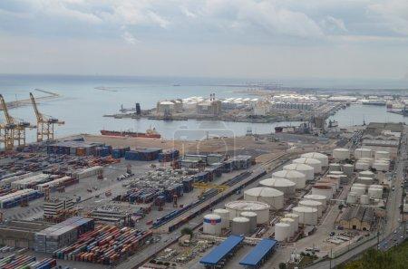 docking zone of Barcelona