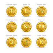 set coins symbol currency