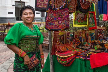 woman selling clothes