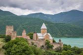 Monastery by the lake Ananuri
