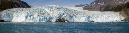Panorama of The Aialik Glacier