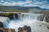 beautiful Godafoss waterfall